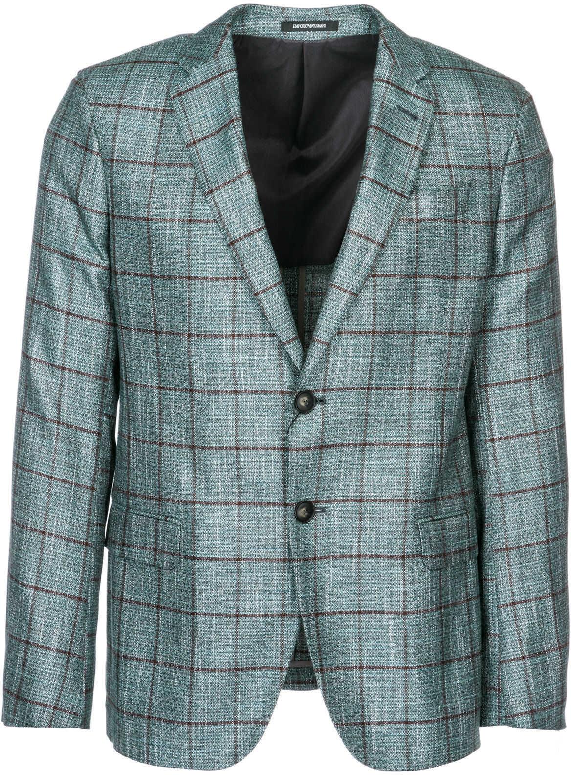 Emporio Armani Jacket Blazer Green