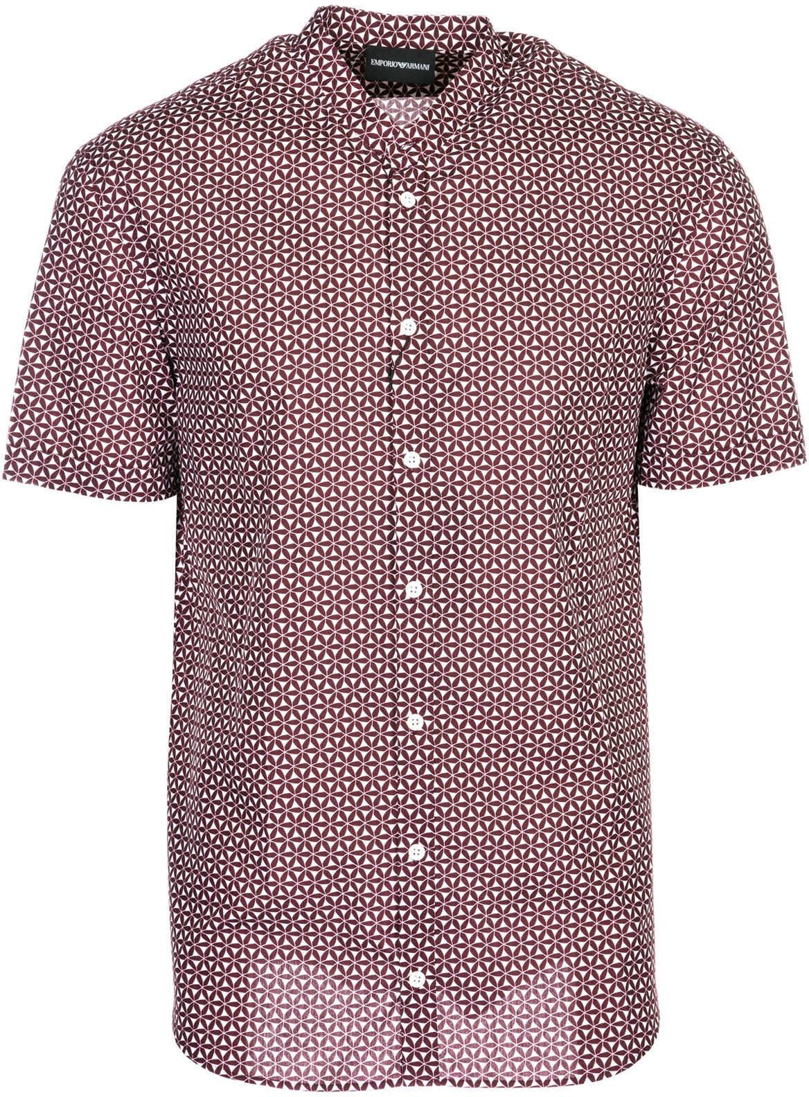 Emporio Armani Short Sleeve Shirt T-Shirt Red