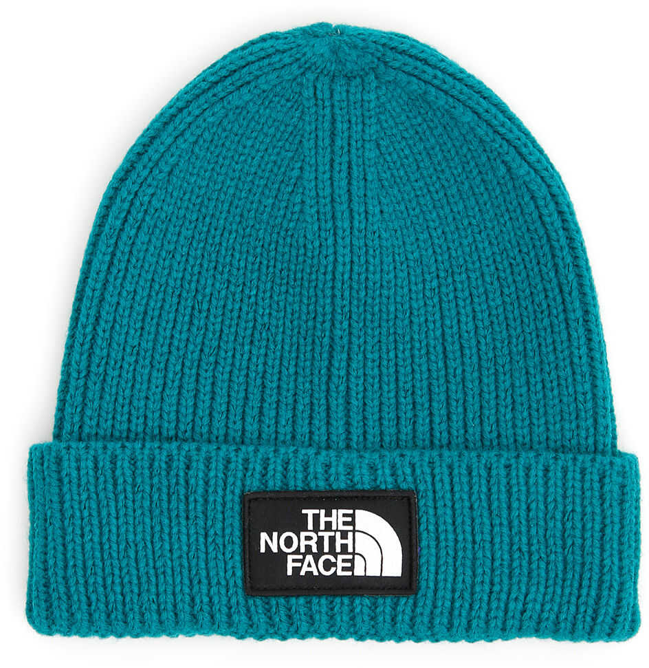 The North Face Logo Beanie EMERALD GREEN