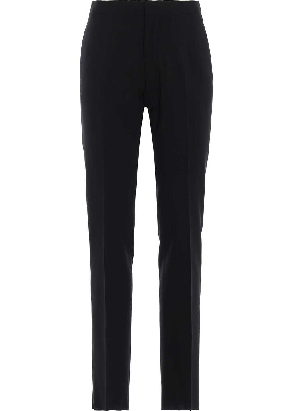 Emporio Armani Wool Pants BLACK