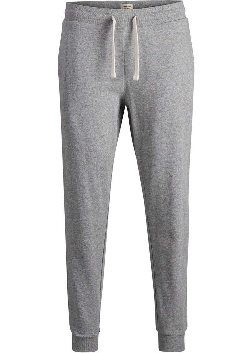 JACK & JONES 12136887Grey Cotton Joggers GREY