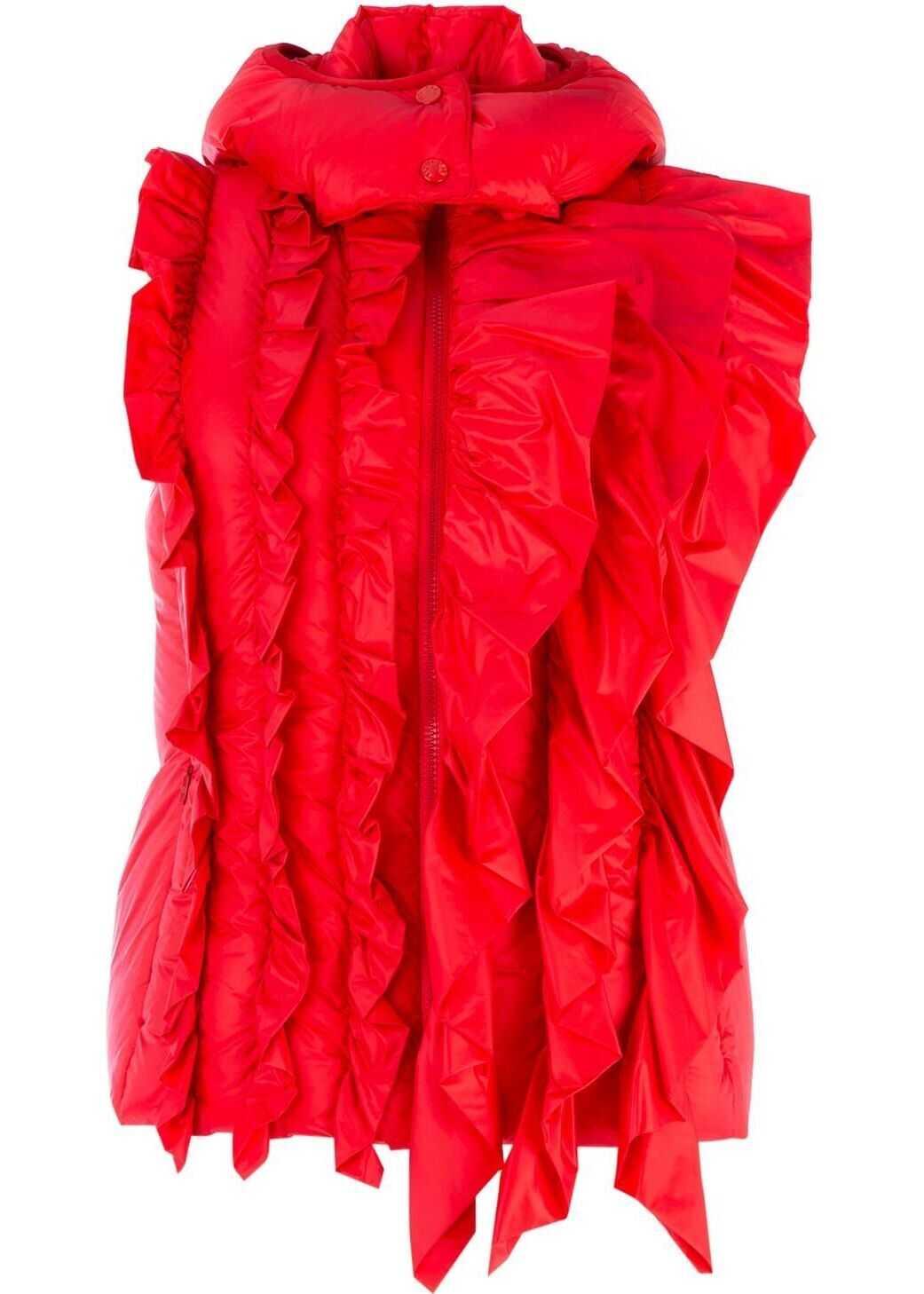 Moncler Polyamide Vest RED