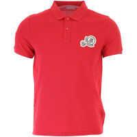 Tricouri Polo Moncler 830420084556456 Cotton Polo Shirt