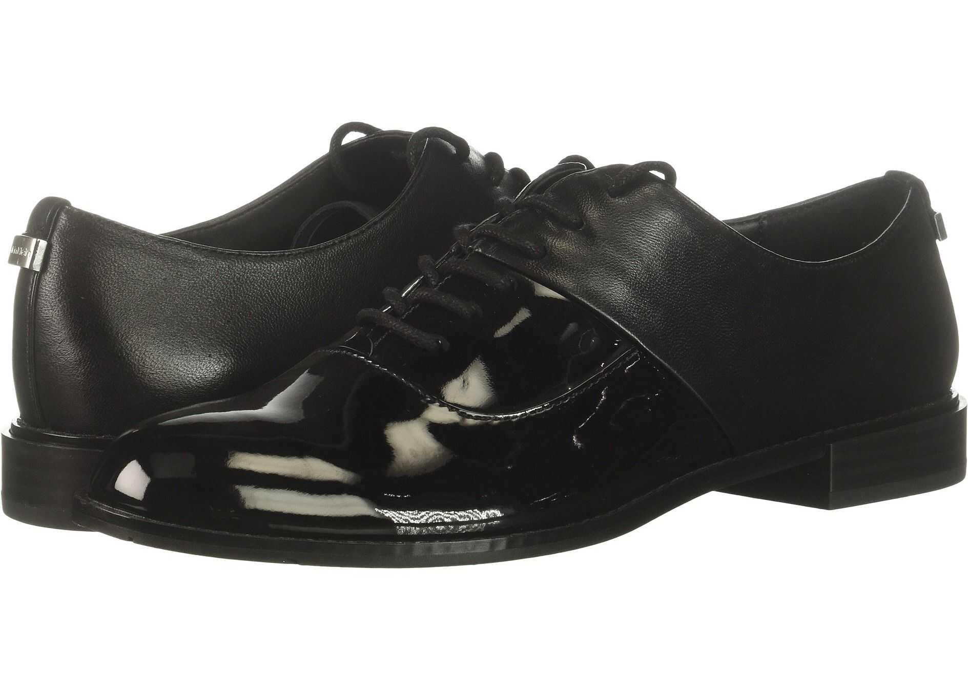 Calvin Klein Aracely Black Patent/Nappa