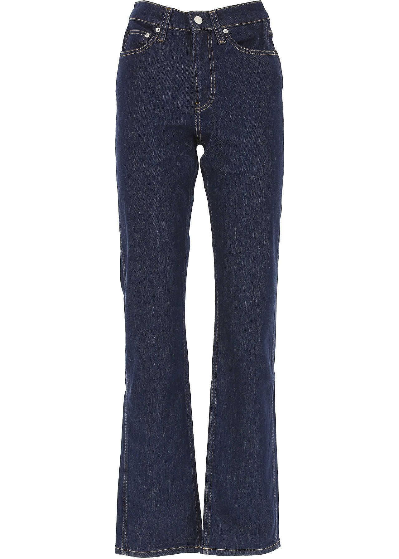 Calvin Klein Jeans J20J209771911 Cotton Jeans BLUE