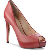 Pantofi cu Toc Flh124Lea07 Femei