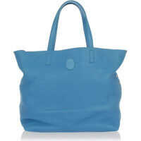 Genti de Mana Leather shopping bag Femei