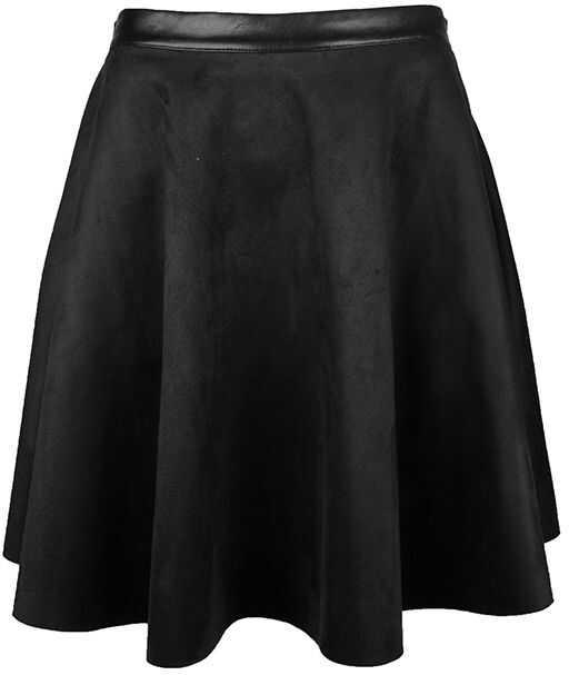 Fracomina Spódnica Czarny