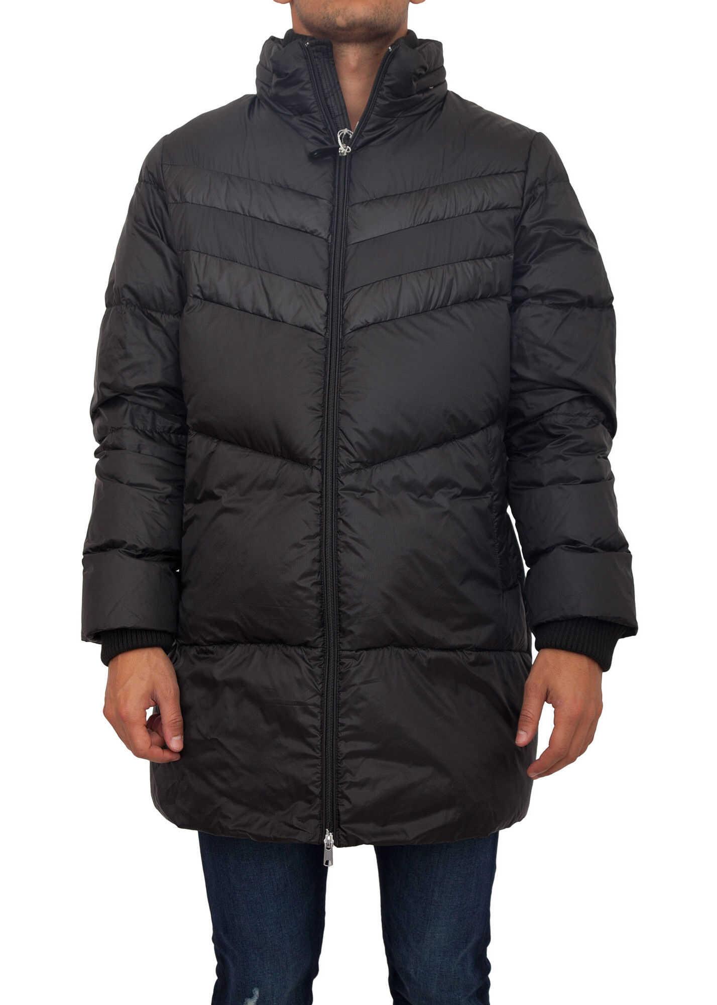 Bikkembergs Long Coat* BLACK image0