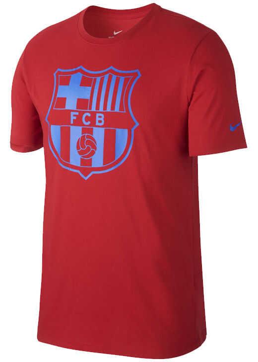 Nike FC Barcelona Crest Tee Red
