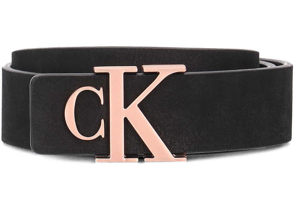 Calvin Klein Re-Issue Belt Czarny