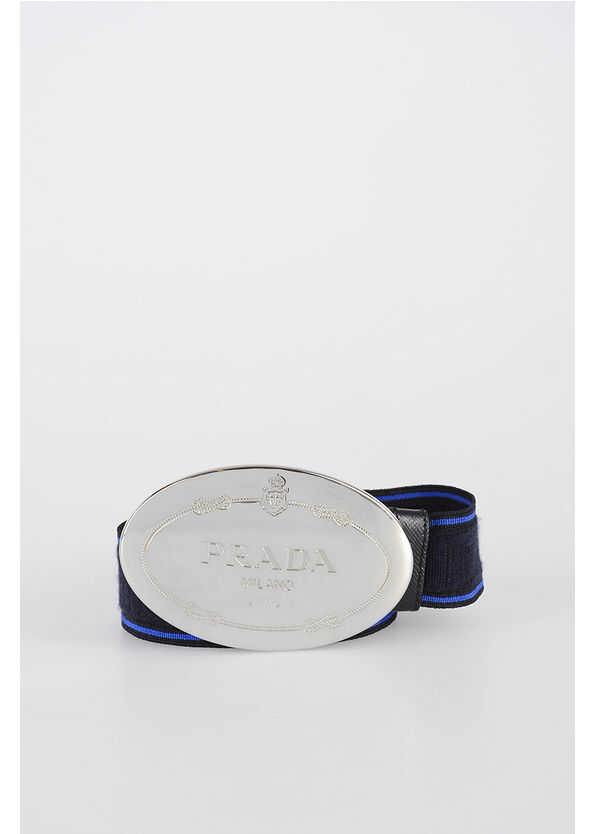 Prada 30mm Fabric Belt N/A