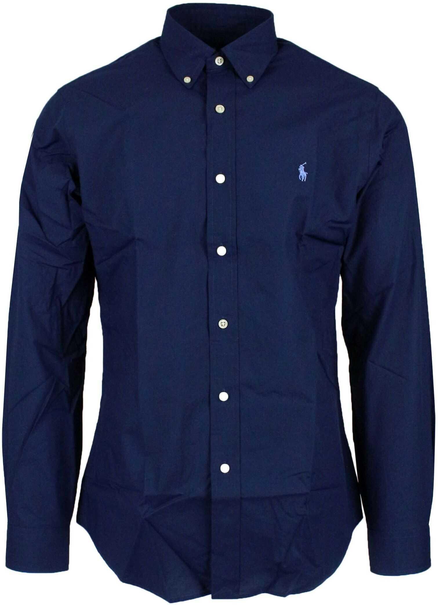 Ralph Lauren Cotton Shirt BLUE
