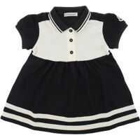 Rochii casual Blue And White Dress With Logo Fete