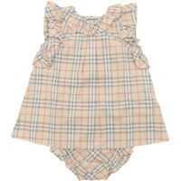 Rochii Check Fabric Carla Dress Fete