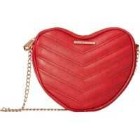 Genti Tip Postas Heart Shaped Quilted Crossbody Femei