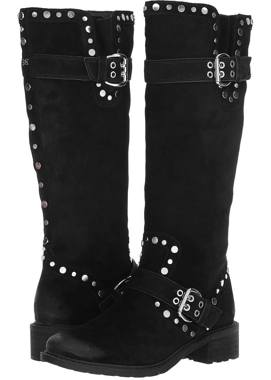 Sam Edelman Deryn Black Velutto Suede Leather