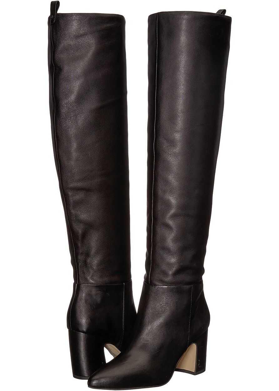 Sam Edelman Hutton Black Nappa Verona Leather
