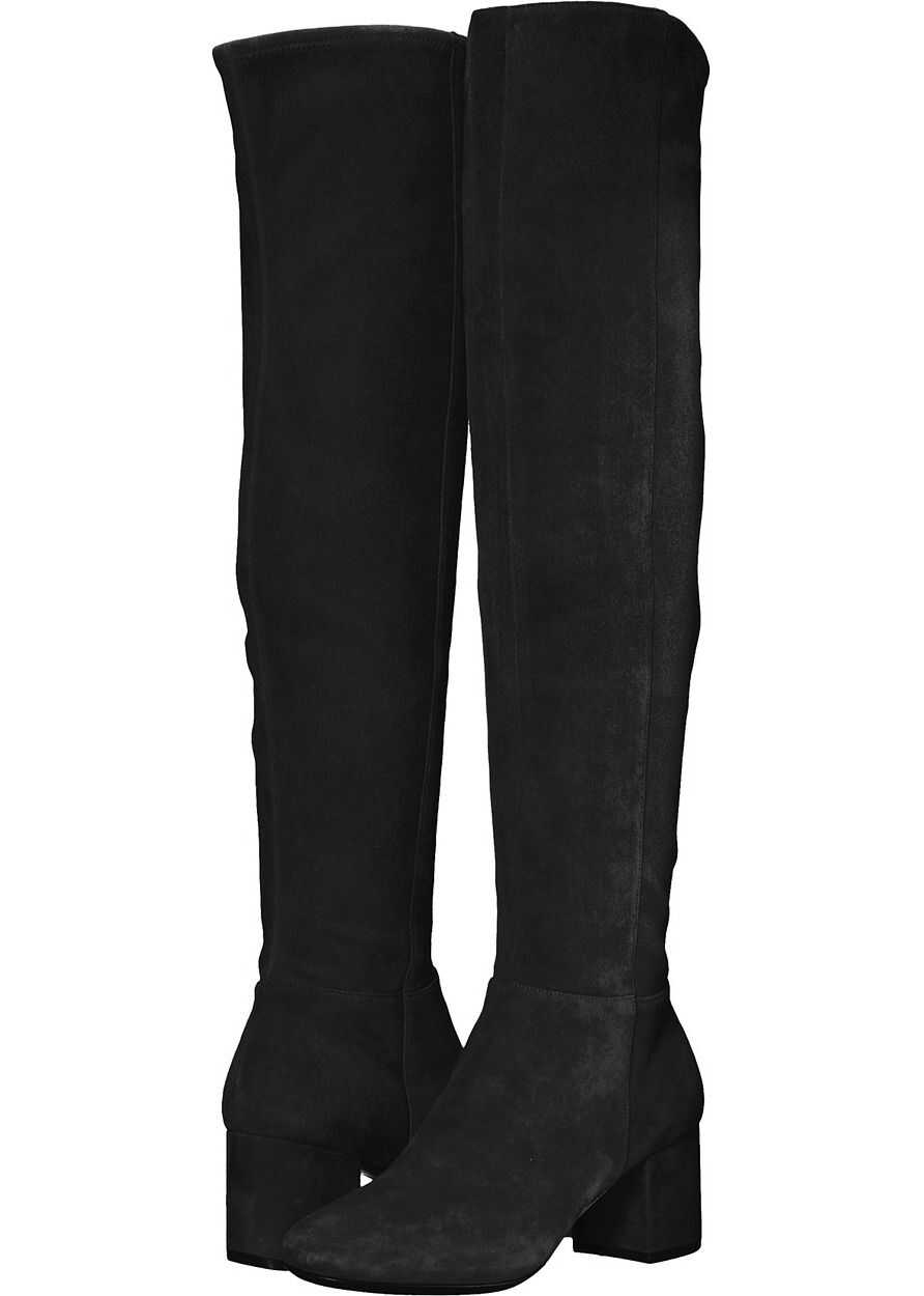 Cole Haan Elnora Over the Knee Boot Black Suede