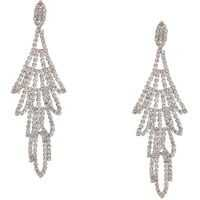 Cercei Rhinestone Chandelier Drop Earrings Crystal Femei