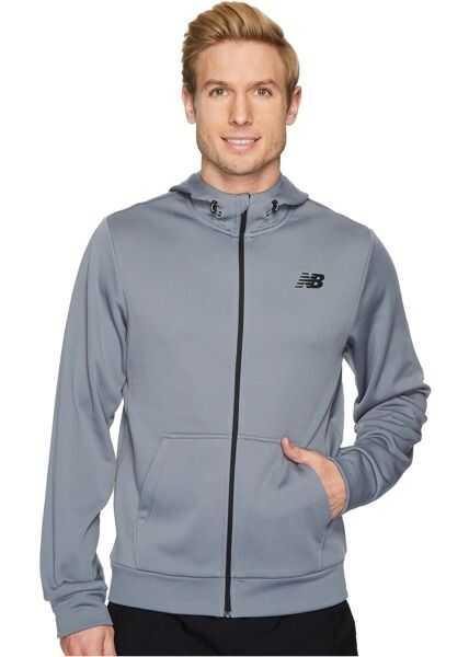 Bluze Trening & Hanorace Barbati New Balance NB Corefleece Full Zip Hoodie