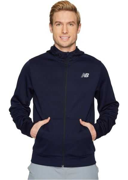 Bluze Trening & Hanorace Barbati New Balance NB Corefleece Full Zip Hoodie