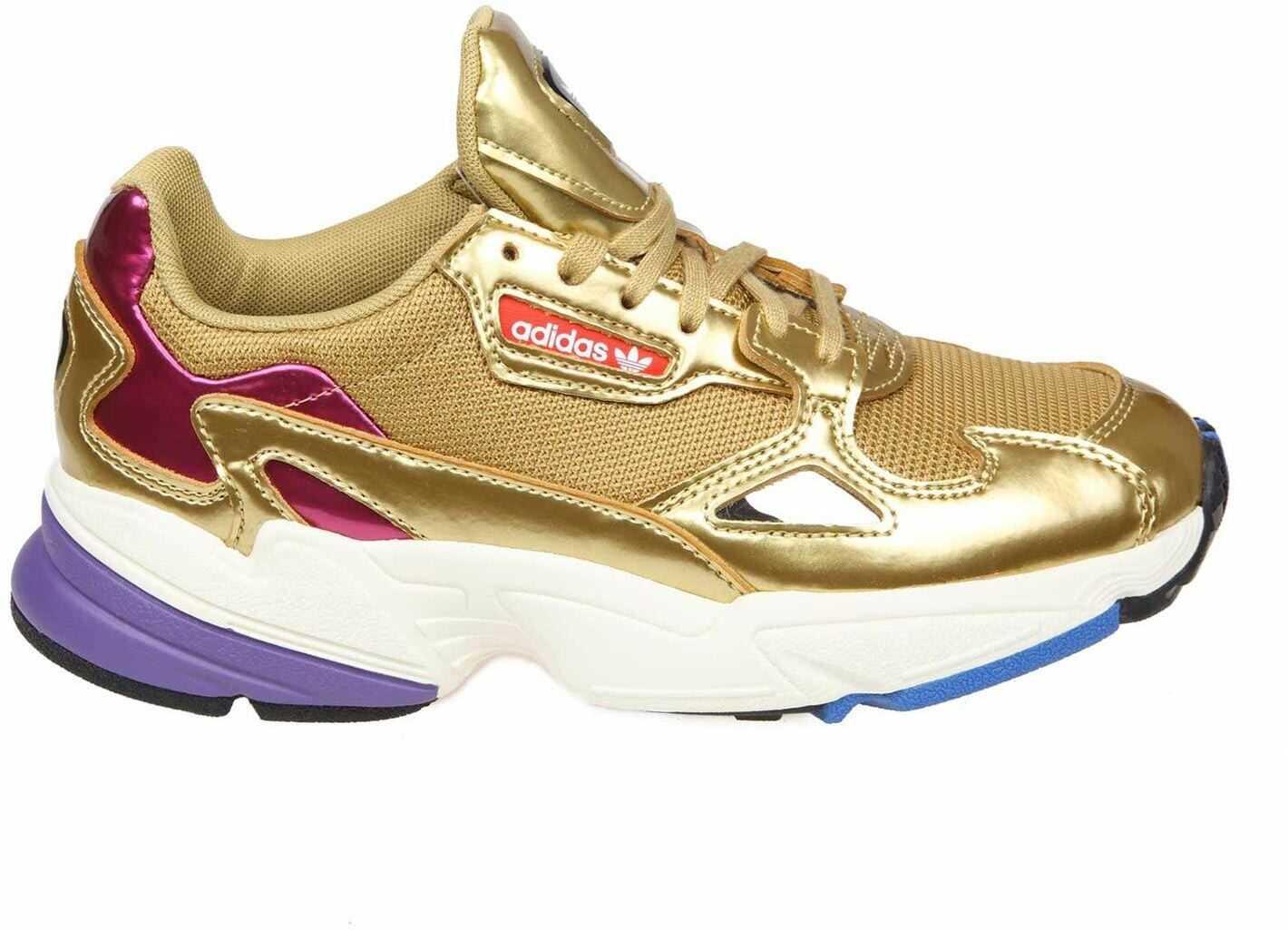 adidas Originals Falcon Golden Sneakers Gold