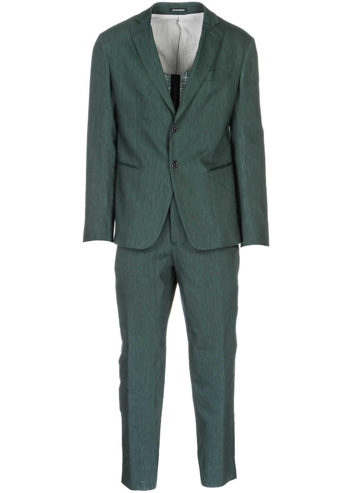 Emporio Armani Suit Green