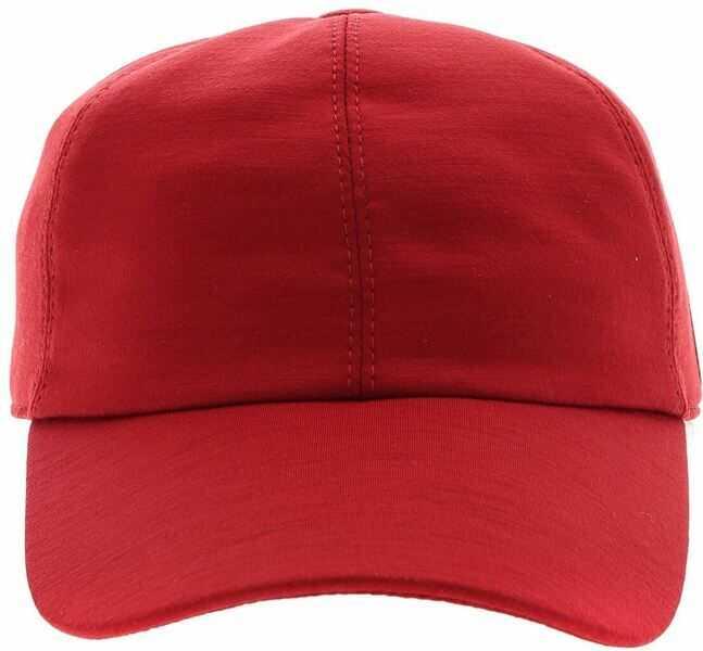 Caciuli & Palarii Barbati Z Zegna Techmerino ™ Hat In Red Wool