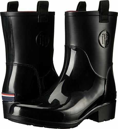Tommy Hilfiger Women's Khristie Rain Boot Black