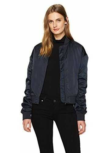 Calvin Klein Women's Bomber Jacket Night Sky