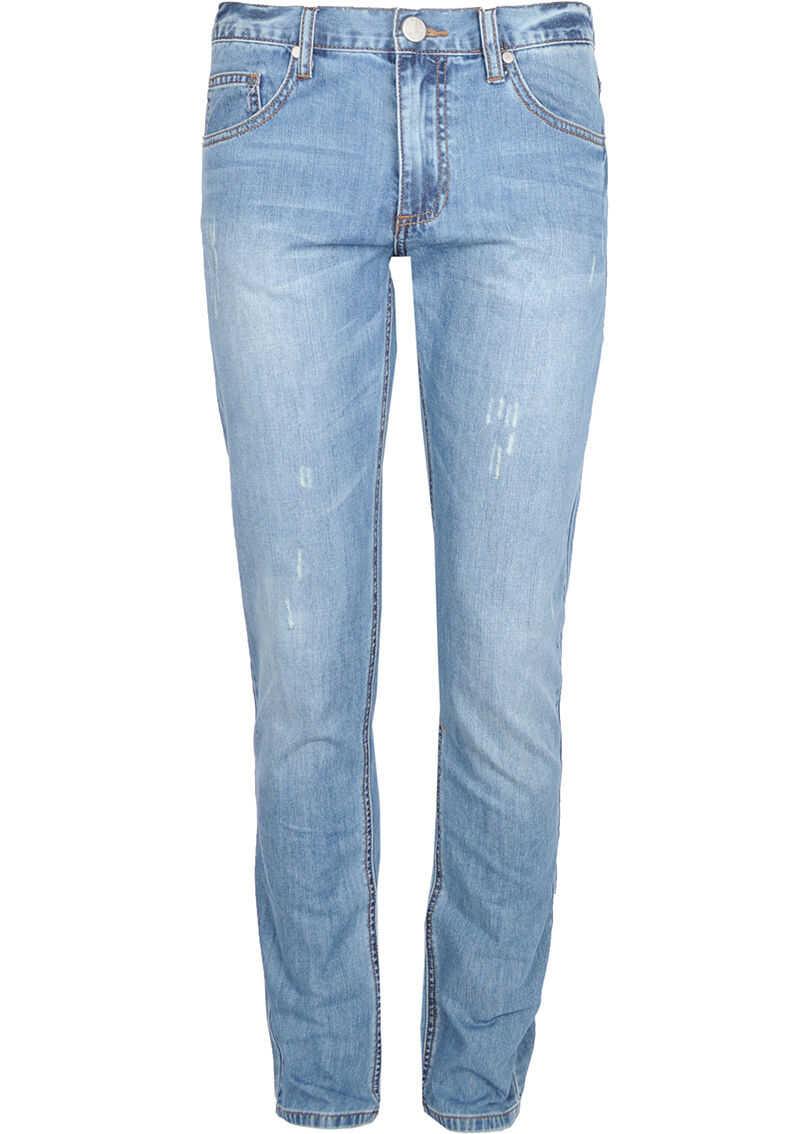 Versace Jeans Slim Niebieski