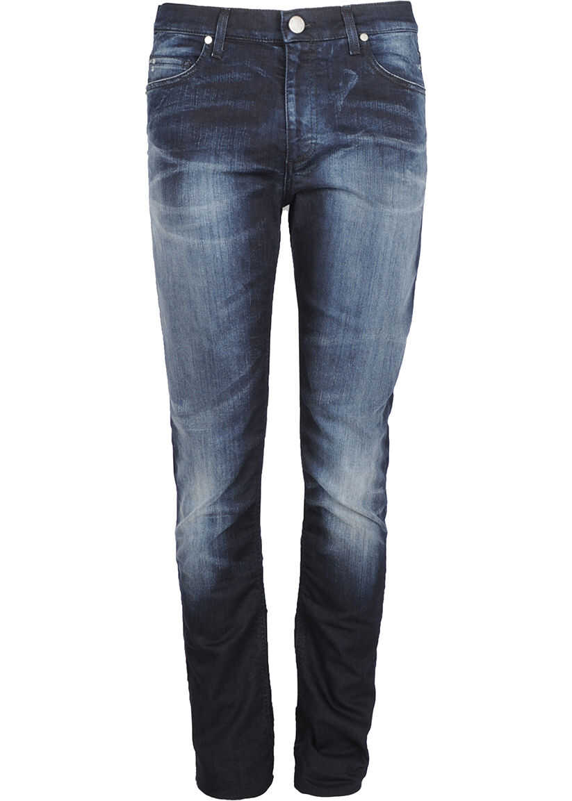 Versace Jeans Slim A2GQA0SA Granatowy