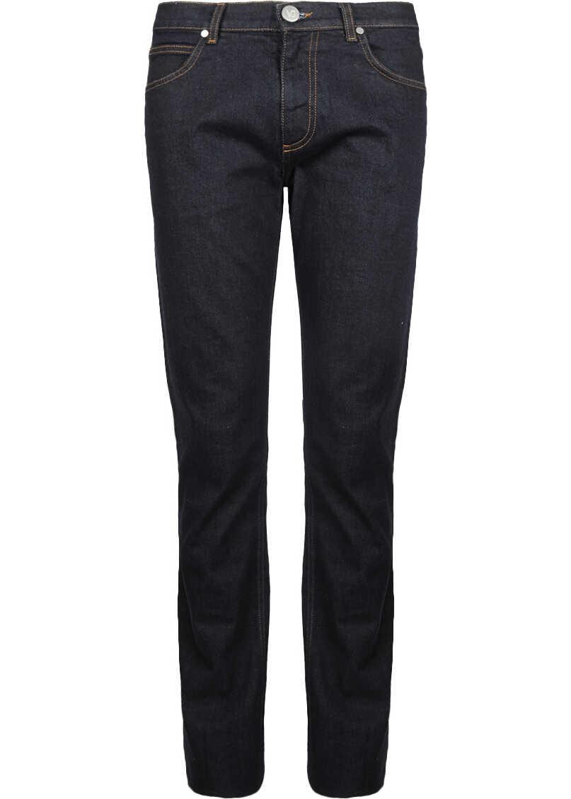 Versace Jeans Slim Granatowy