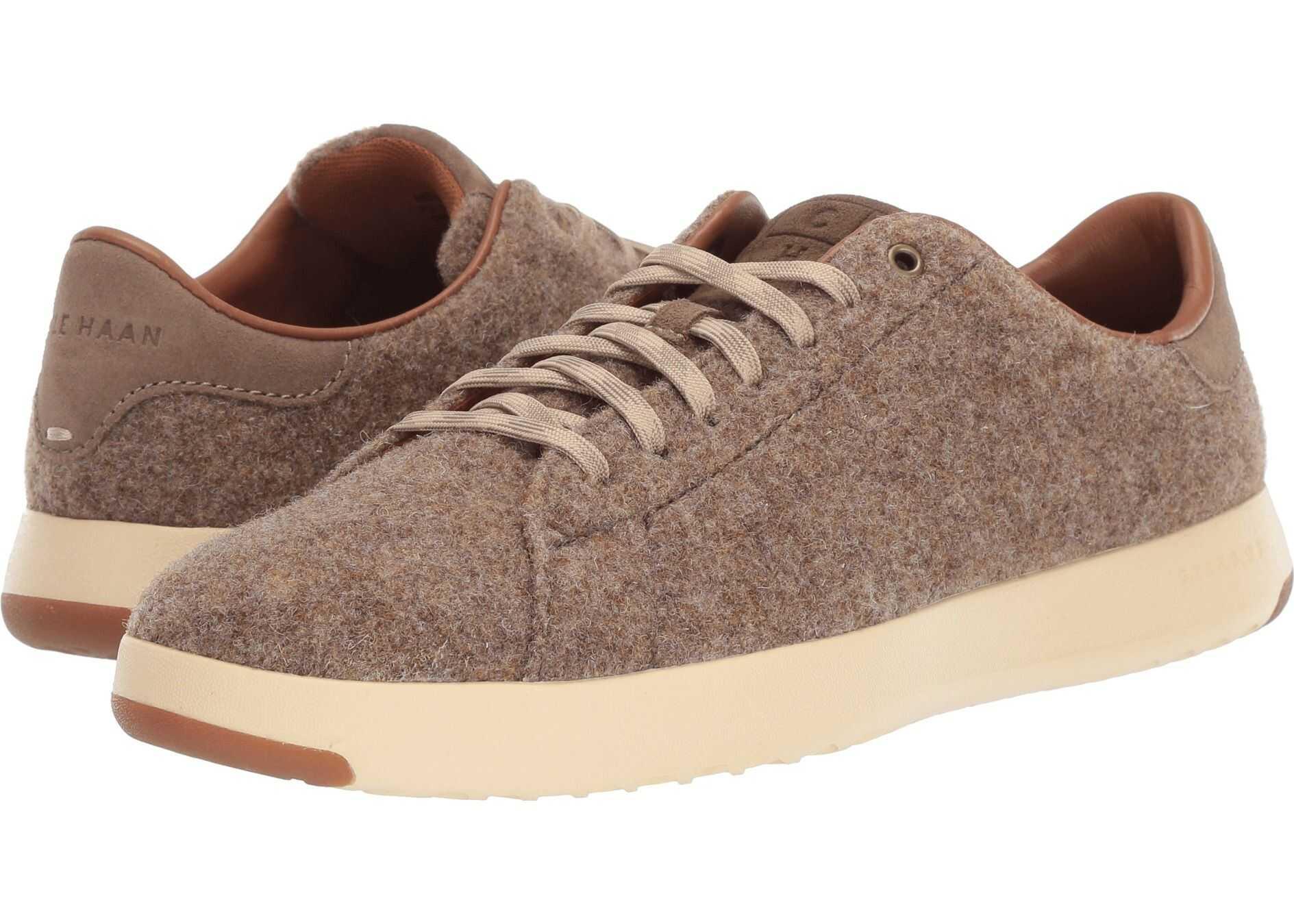 Cole Haan GrandPro Tennis Sneaker Soft Sage Wool/Suede