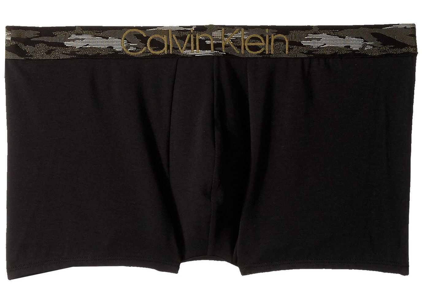 Calvin Klein Underwear Camo Cotton Trunk Black/Camo