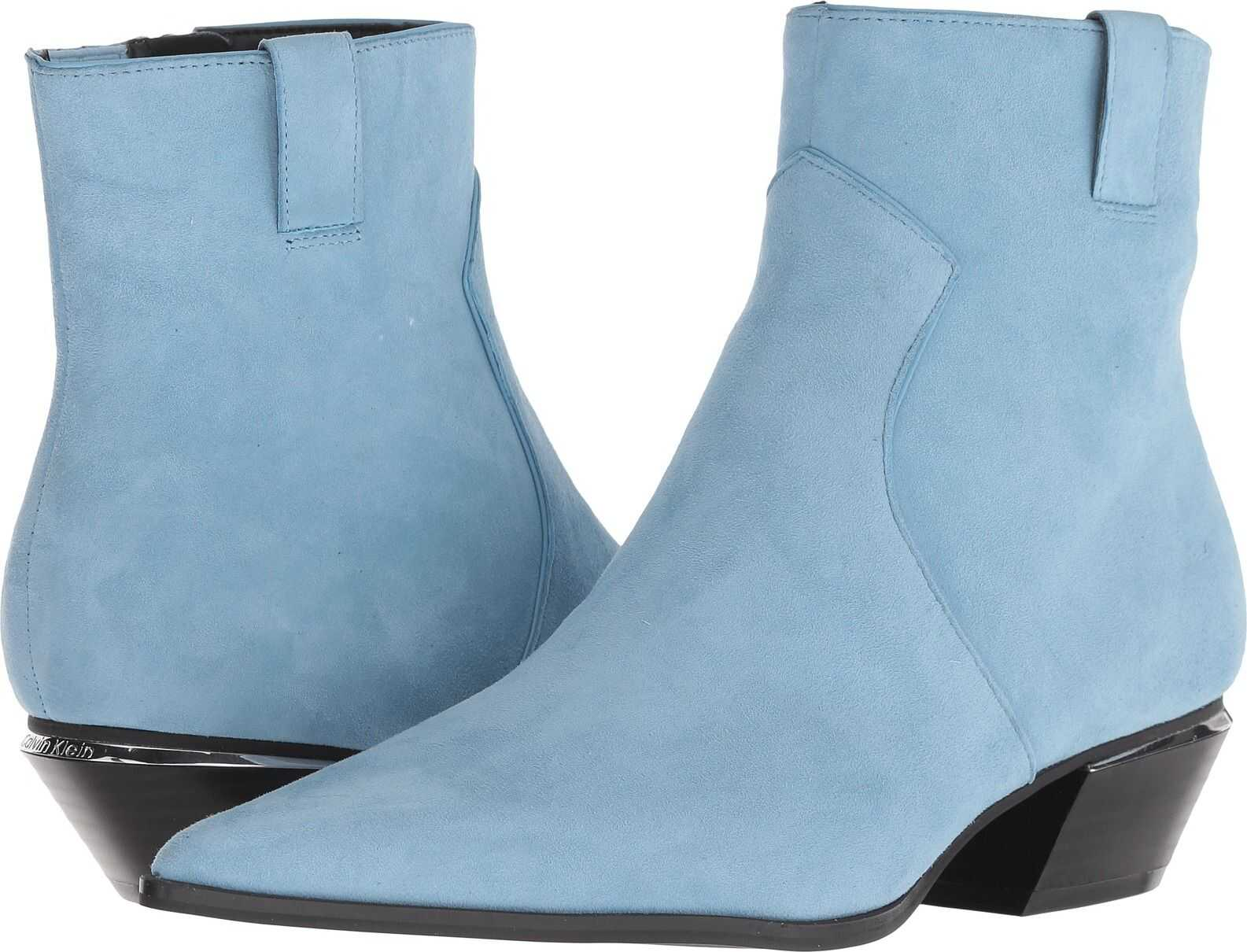 Calvin Klein Nanuka Dusty Blue Kid Suede