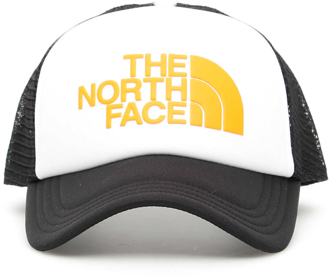 The North Face Trucker Logo Cap WHITE ZINNI