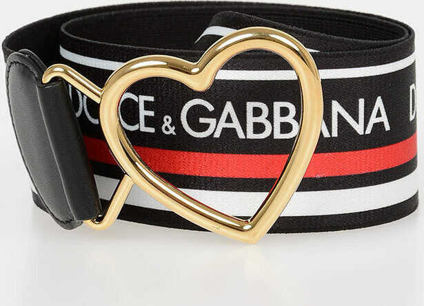 5cm Elastic Band Belt With Heart Buckle