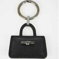 Breloc Chei Key Ring with Leather Pendant Femei