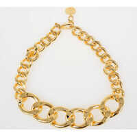 Coliere MM6 Gold Tone Necklace Femei