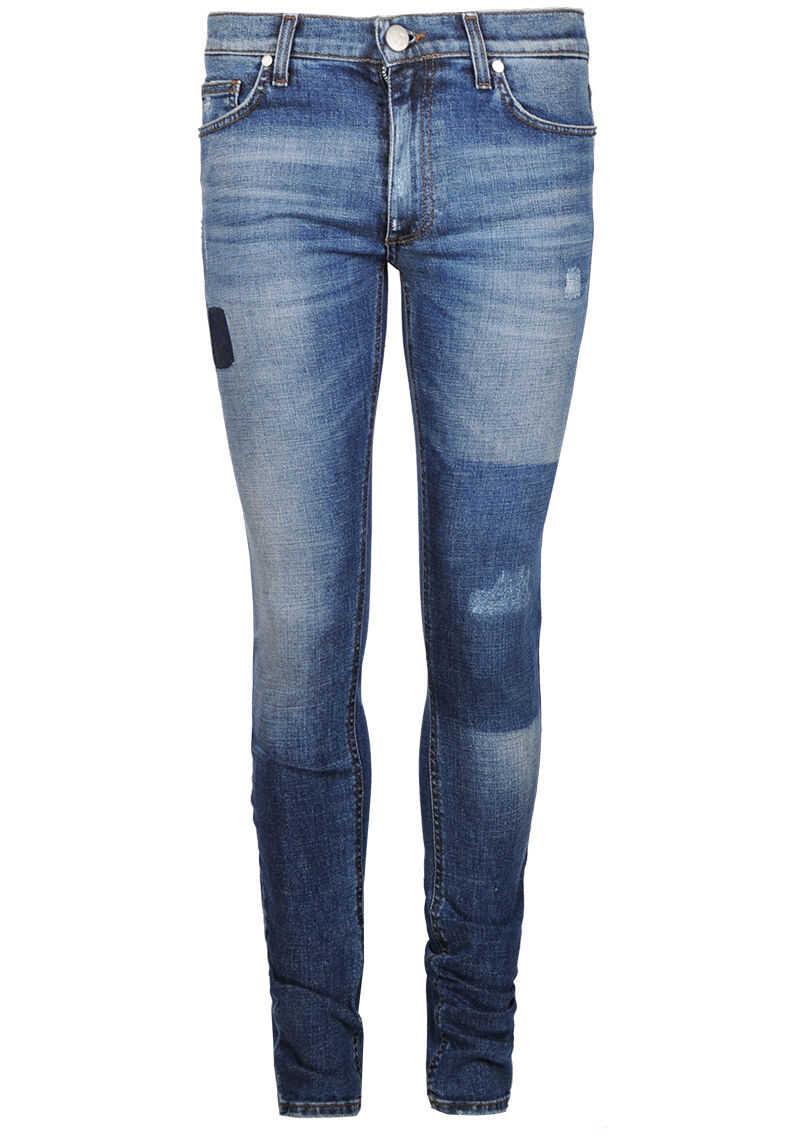 Versace Jeans Skinny Niebieski