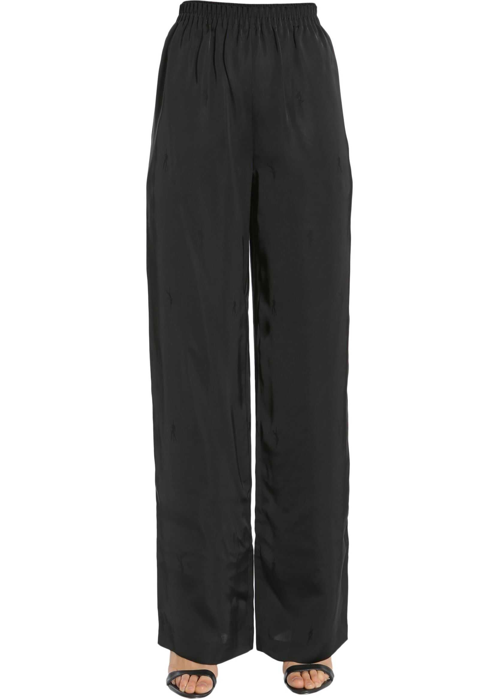 Alexander Wang Wide Leg Trousers BLACK