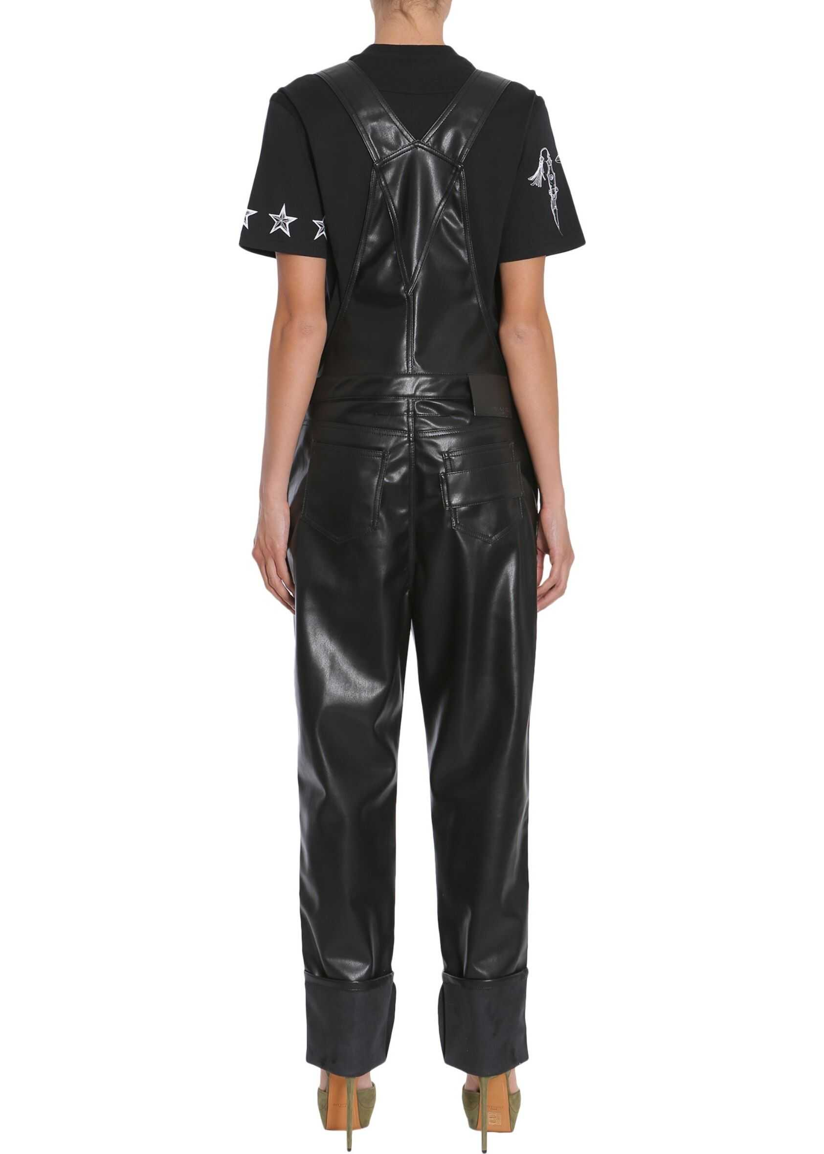 Givenchy Eco Leather Dungarees BLACK