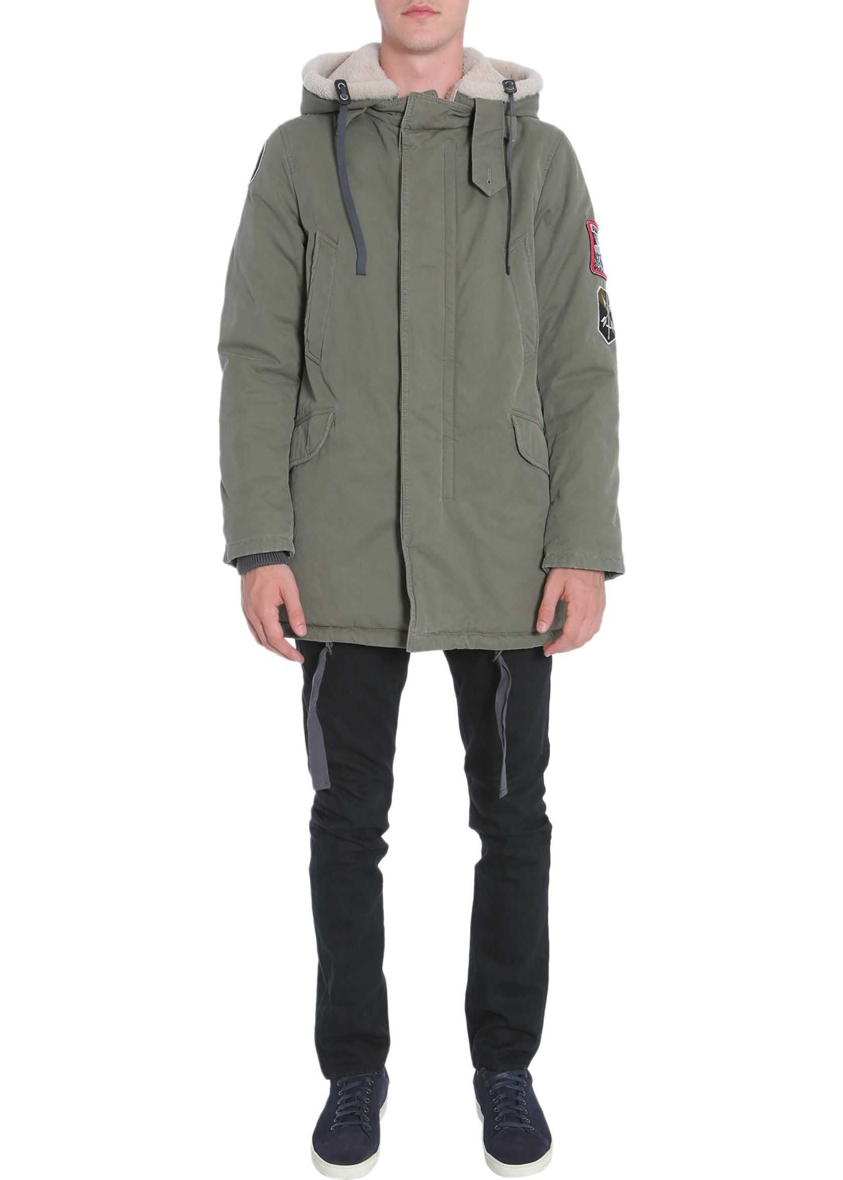 Lanvin Fishtail Parka MILITARY GREEN