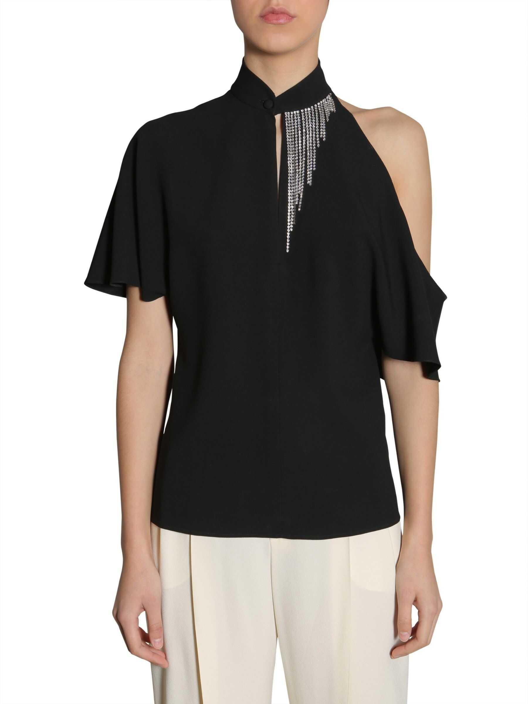 Lanvin Embellished Blouse BLACK