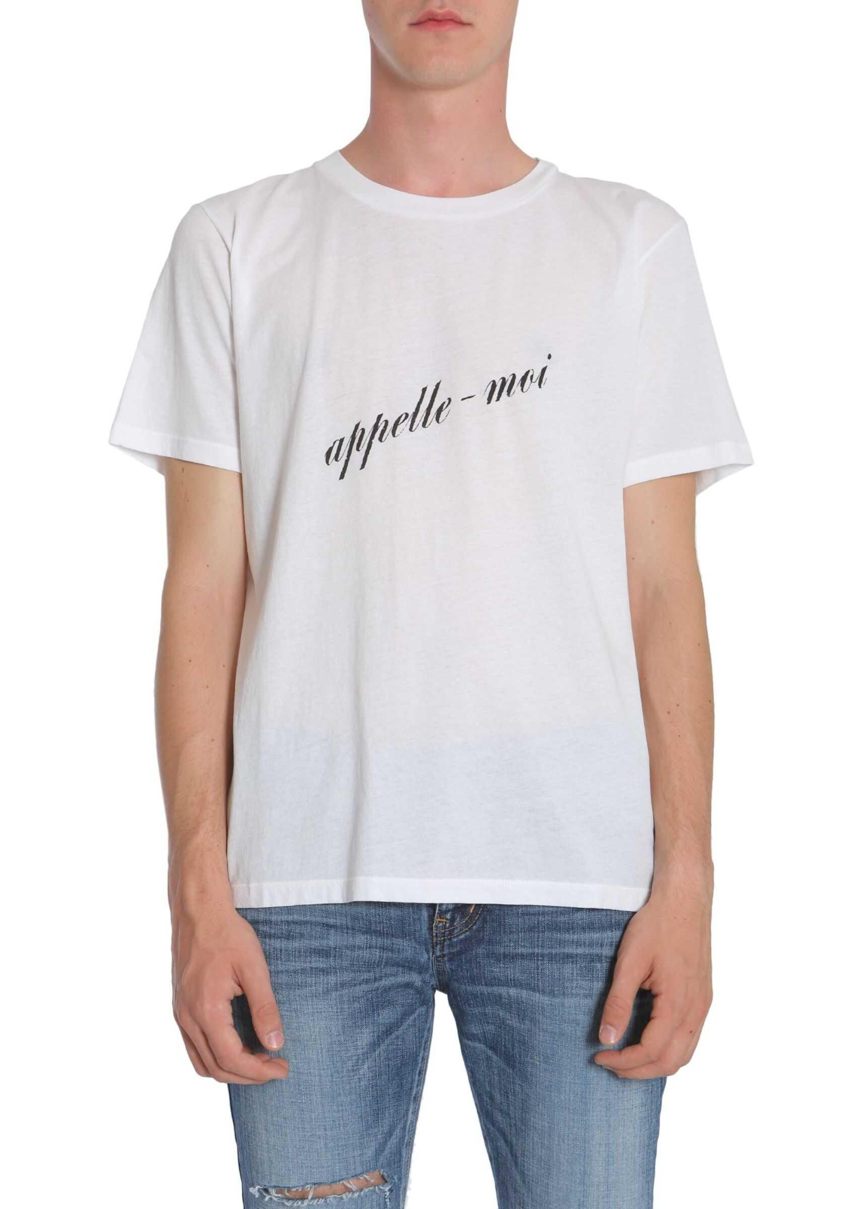 """""""Appelle Moi"""" Print T-Shirt"""