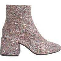 Cizme scurte Glitter Ankle Boots Femei
