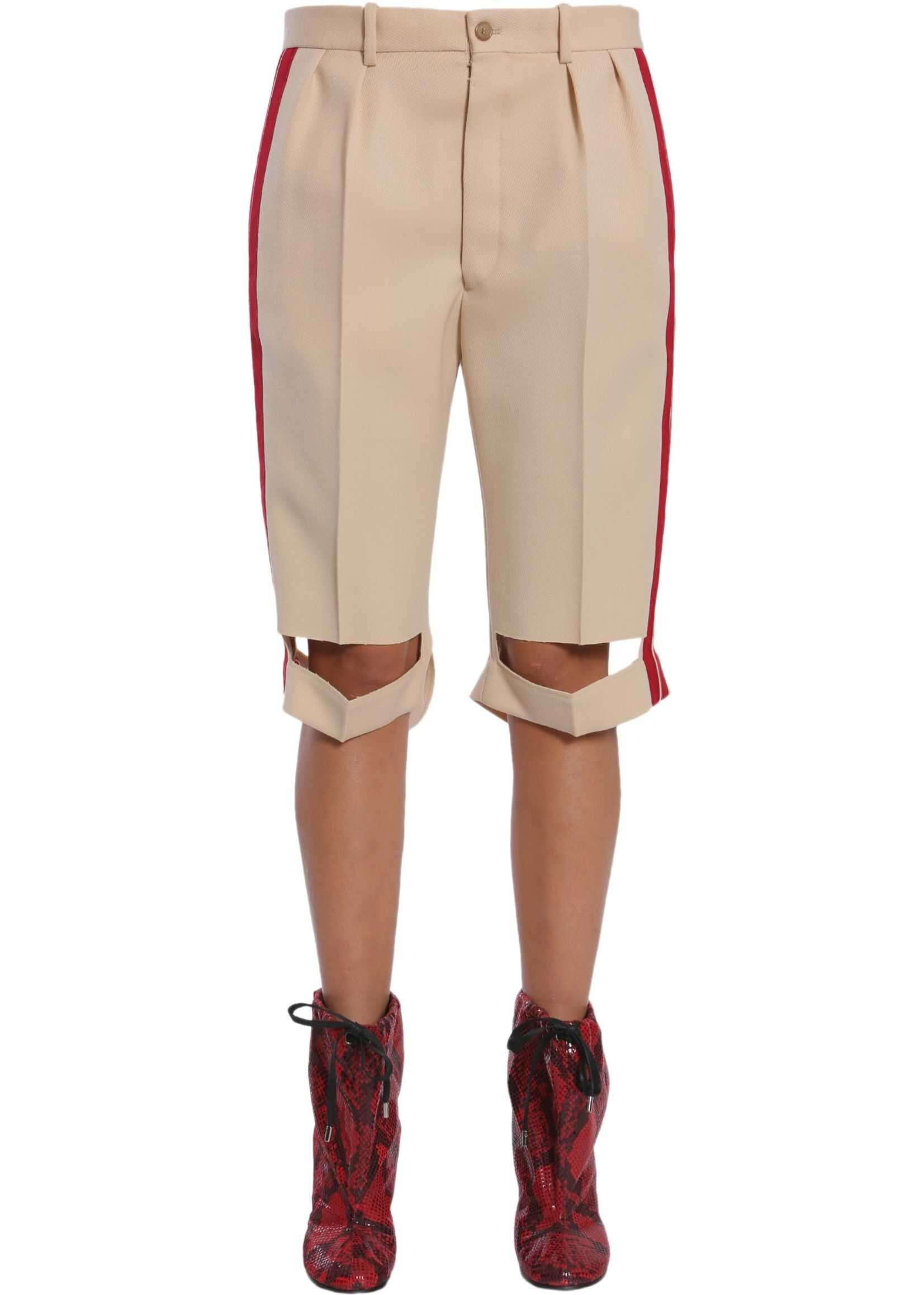 Bermuda Shorts With Side Bands