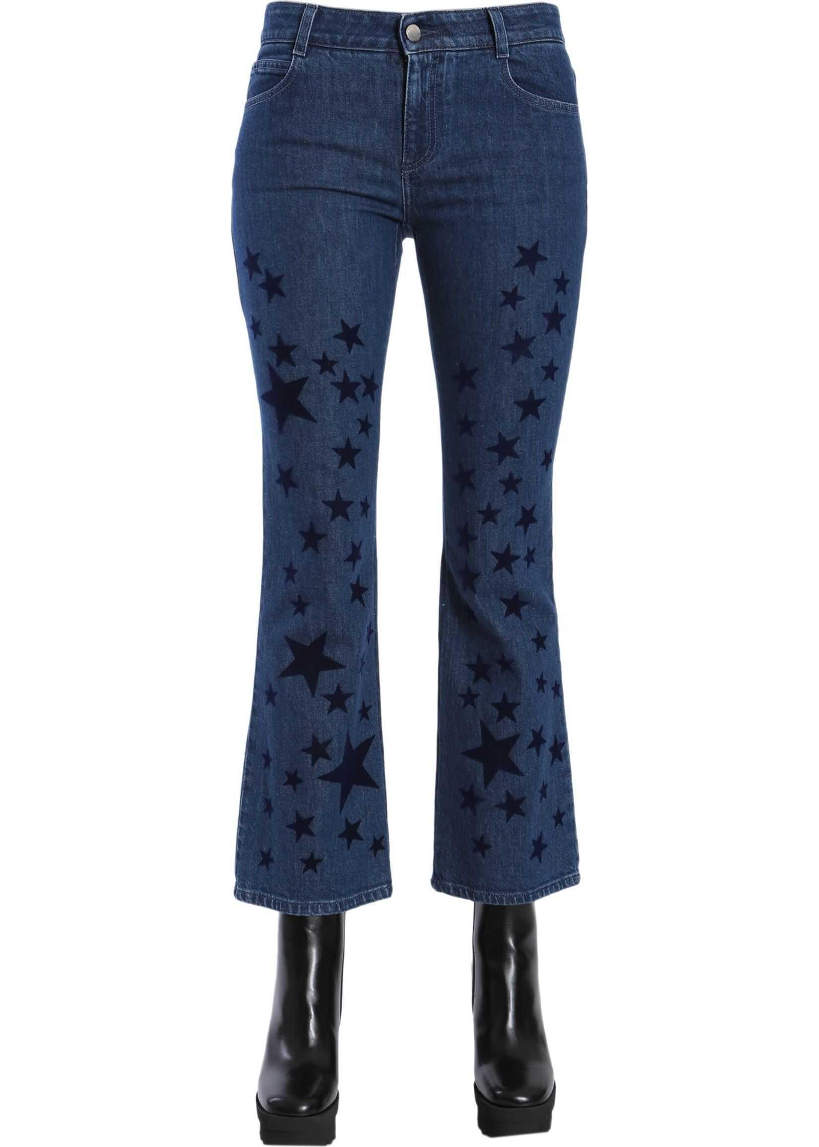 adidas by Stella McCartney Skinny Kick Jeans BLUE